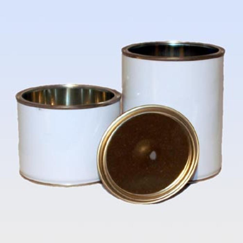 Empty Can Tin With Lid