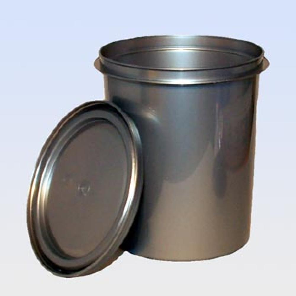 Empty Can PVC with Lid